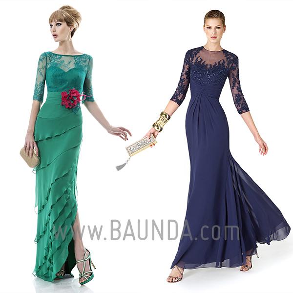 Vestidos-para-madre-de-la-novia-manga-francesa-Baunda-2014