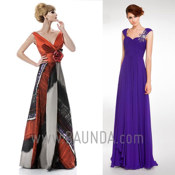 Vestidos-para-madre-de-la-novia-sin-mangas-Baunda-2014