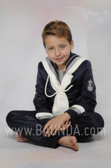 Traje de comunion marinero otoman 2016 Timoneles 1015 azul marino