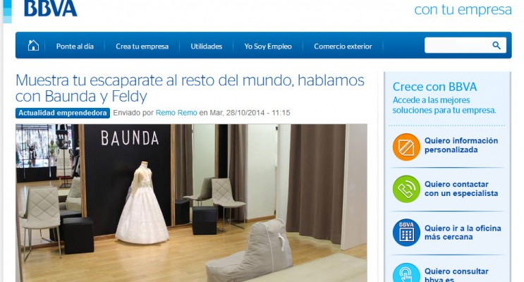 Entrevista a Baunda y Feldy. BBVA con tu empresa