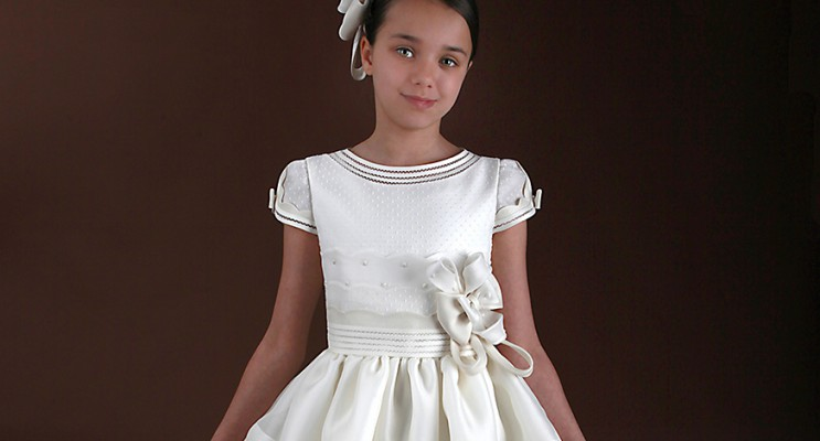 Nueva colección vestidos de comunión 2015 en Baunda Madrid