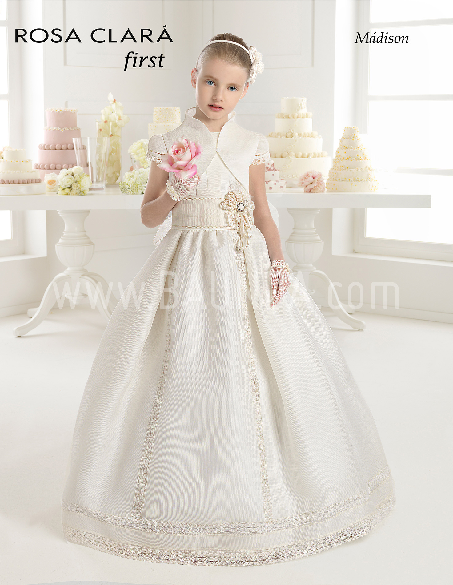 First communion dress rosa clara 2015