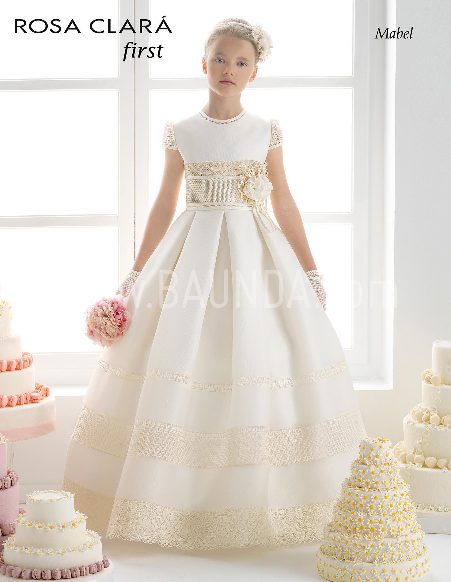 Fotos de vestidos de comunion rosa clara