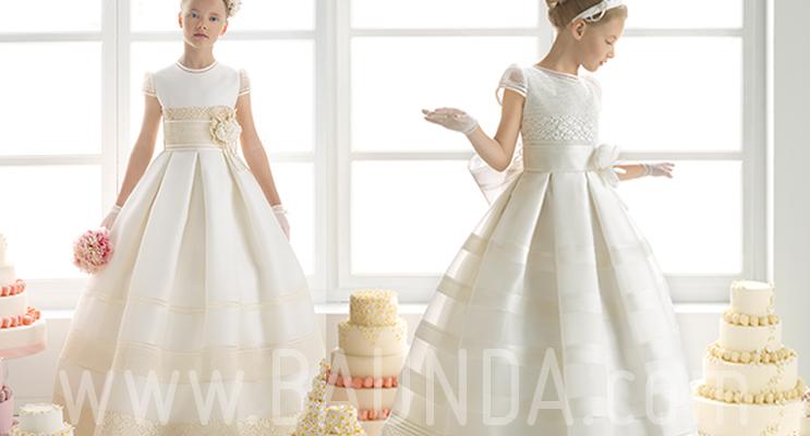 vestidos de primera comunion largos 2015