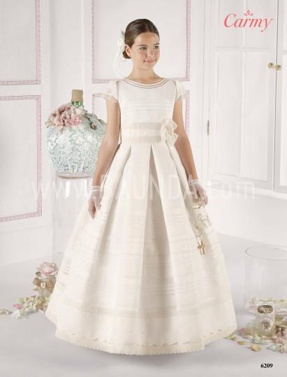 Vestidos de comunion 2016 Carmy 6209 en Baunda Madrid