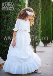Vestido de comunion 2016 Lodia 2016 disponible en Baunda y Madrid y compra online