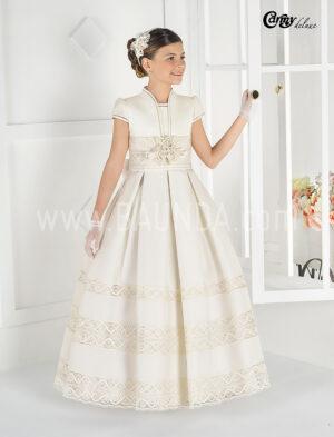 Vestido de comunion Carmy Deluxe 2016 GOYA en Baunda Madrid