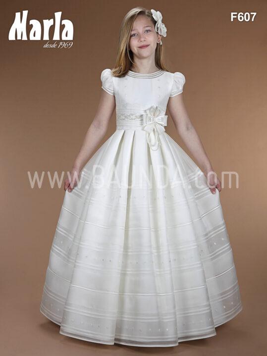 Vestido de comunion Marla 2016 F607 en Baunda Madrid