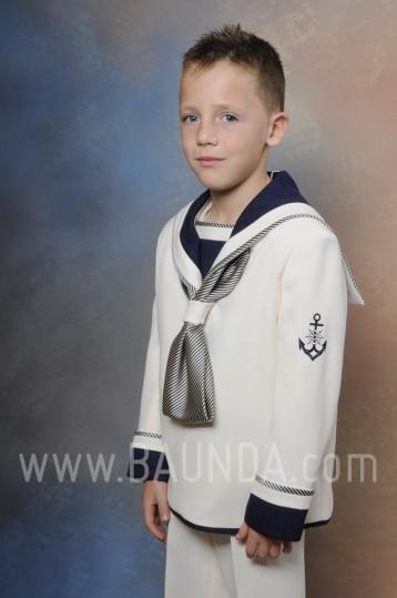 Traje de comunion marinero rustico 2016 Timoneles 1026 marfil en Madrid
