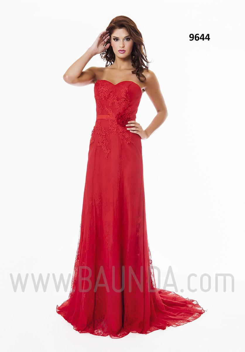 Vestido de fiesta largo 2016 XM 9644 Rojo
