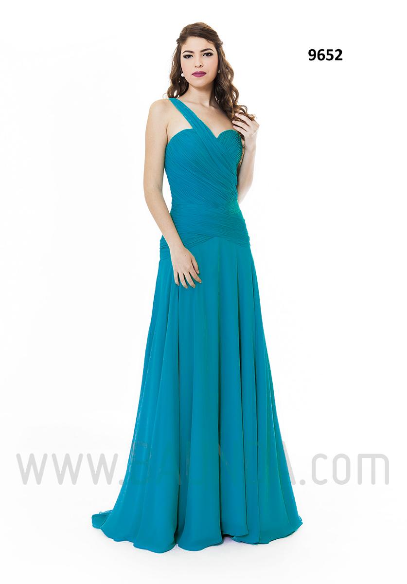 Vestidos de noche color azul turquesa - Vestidos De Fiesta Azul Turquesa