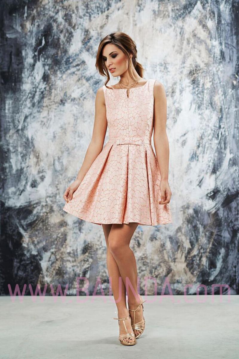 Vestidos Cortos Color Rosa
