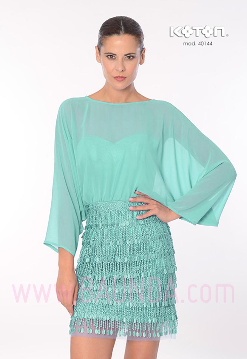 Imagenes de vestidos cortos verde agua