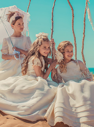Communion dresses 2018 at Baunda Madrid made in Spain