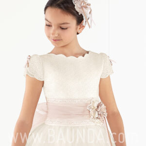 Vestido de primera comunión 2017 Aire Barcelona IDALY cuerpo