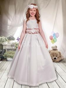 Vestido de comunión sin mangas 2017 Angela 406