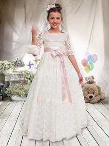 Vestido de comunión vintage 2017 Angela 428