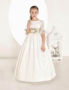 Vestido de comunión romántico Carmy 2017 modelo 7627