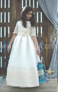 Vestido de comunion 2017 Loida 108