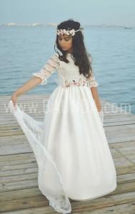 Vestido de comunion 2017 Loida 115