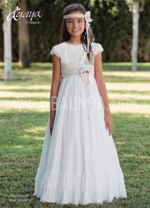 Vestido de comunión Amaya 2017 modelo 938