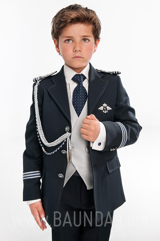 2e0e706f1 Baunda Traje comunión almirante 2019 Varones 2053 para niño en ...