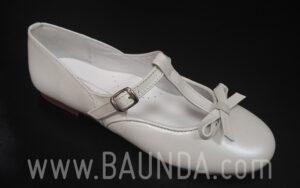 Zapatos de comunión cerrados 2017 Baunda Z1716