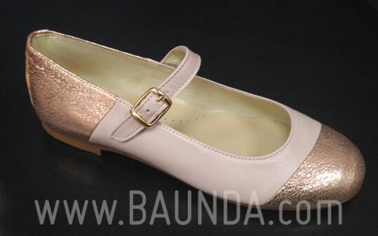 Zapatos de comunión rosas 2017 Baunda Z1715