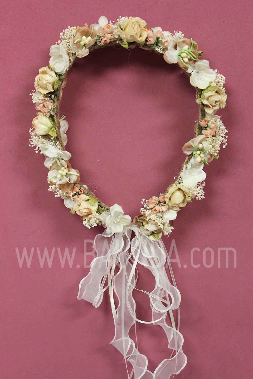 Corona flores pelo nia trendy cheap corona de flores para - Coronas de flore ...