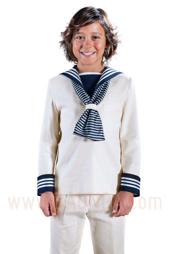 Traje de marinero rústico 2017 varones 1017 en Baunda Madrid