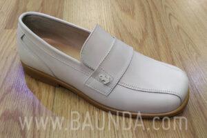 Zapatos de comunión marfiles 2017 Baunda Z1755