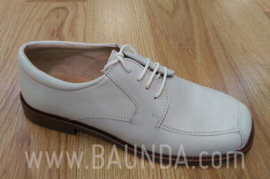 Zapatos de cordones marfil para comunión Baunda Z1853