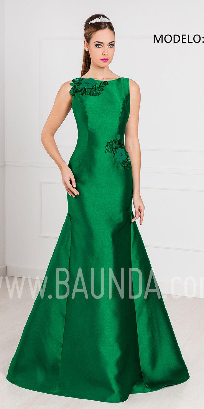 Baunda Vestido De Fiesta Largo Sirena Verde 2017 Rojo Xm