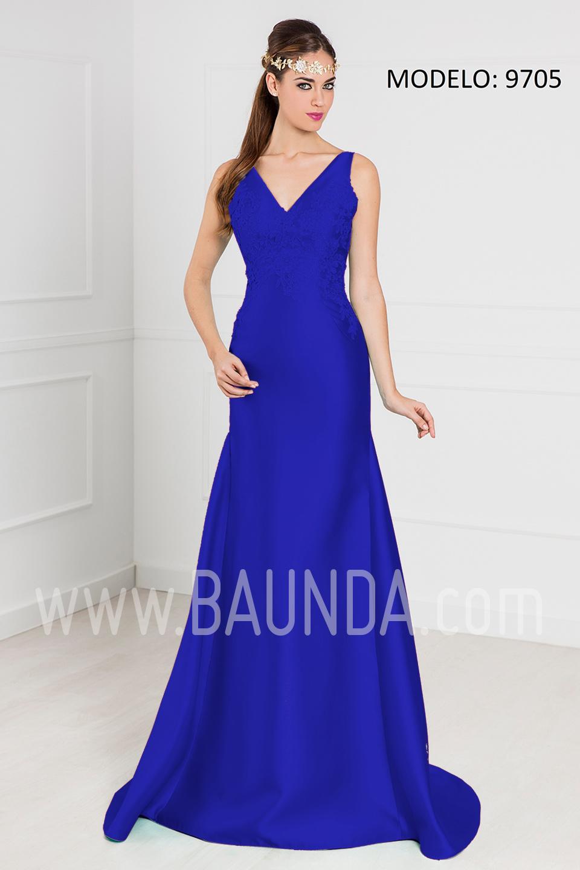 Baunda Vestido sirena azulón 2017 XM 9705 en Baunda Madrid y tienda ...