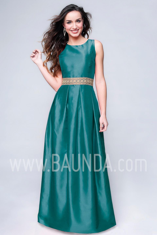 Baunda Vestido largo boda 2017 Baunda 1783 turquesa en Madrid y ...
