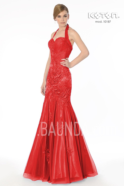 Vestido de fiesta rojo madrid