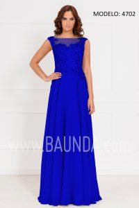 Vestido largo azulón 2017 xm 4702