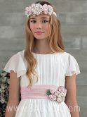 Vestido de comunión Amaya 2018 modelo 932 detalle