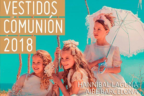 Catálogo vestidos de comunión 2018 en Baunda Madrid y tienda online
