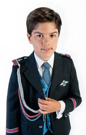 Traje de almirante 2018 Varones 2056 para comunión de niño detalle