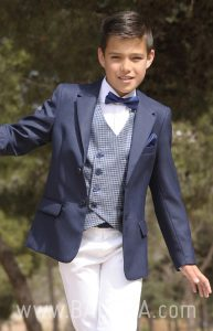 Communion suit with vest 2018 sport 1825