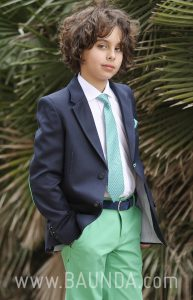 Communion suit green pants 2018 Sport 1865