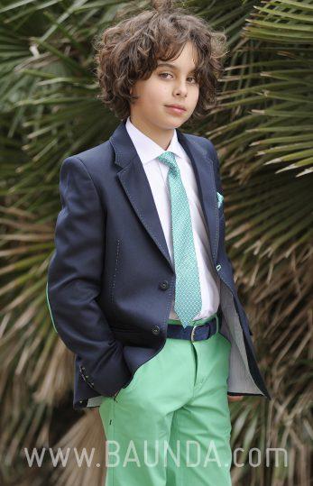 Communion suit green pants 2018 Sport 1865