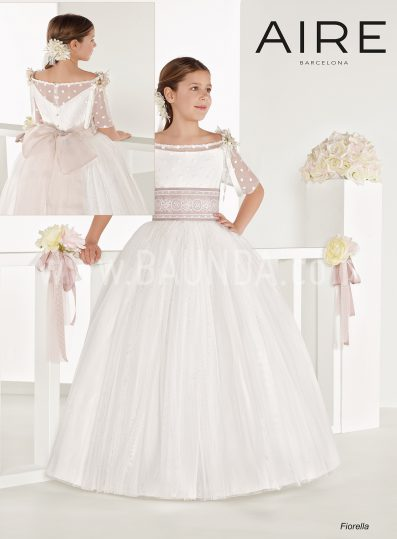 Vestido de comunión princesa Aire Barcelona 2018 FIORELLA