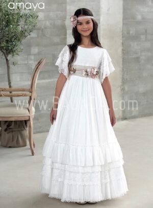 Vestido comunión boho Amaya 2018 modelo 921