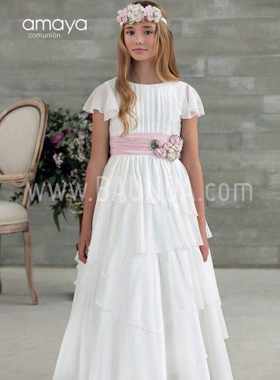 Vestido de comunión Amaya 2018 modelo 932