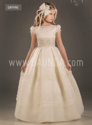 Spanish communion dress Valeria 2018 model Daphne
