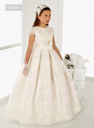 Communion dress Madrid Valeria 2018 model Delicia