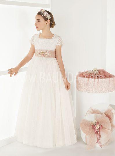 Vestido comunión romántico Elisabeth 2018 modelo SOPRANO