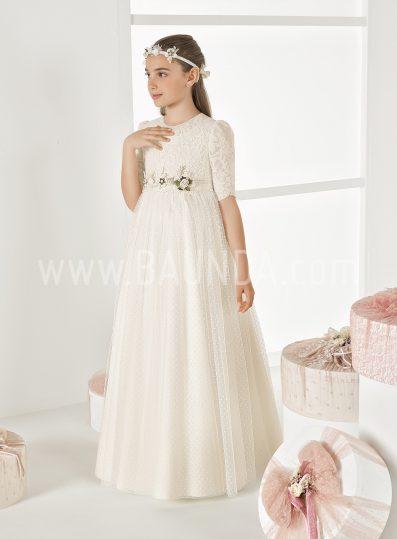 Vestido de comunión especial Elisabeth 2018 modelo SORTIJA